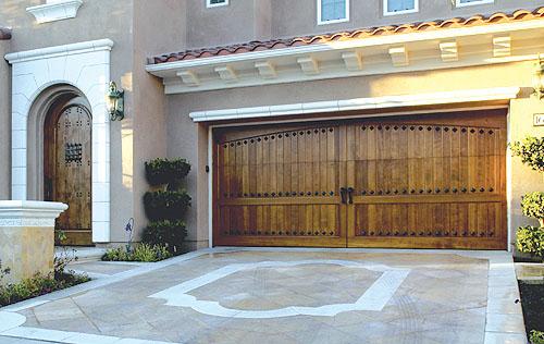 premier cedar doors systems garage project door no entry wood
