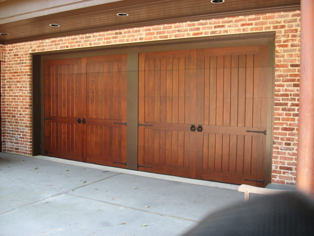Custom wood doors overhead door company of conroe for Custom wood doors