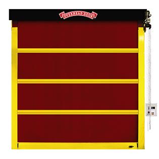 Fabric high speed door